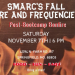 Don't miss the SMARC fall Fire and Frequencies event!